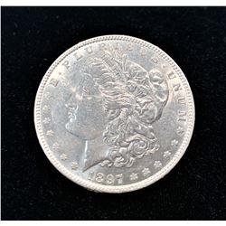 1879-P SILVER MORGAN DOLLAR