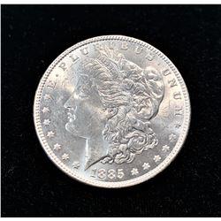 1885-P SILVER MORGAN DOLLAR