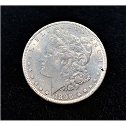1896-P SILVER MORGAN DOLLAR