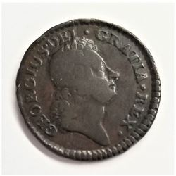 1723 George English Farthing Coin