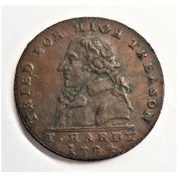 Middlesex 1025 Condor Token Hardy Coin VF