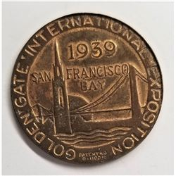 1939 Collectible San Fransisco Golden Gate International Exposition