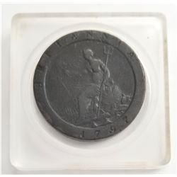 1797 British One Penny