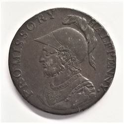 D&H Hampshire #41 !/2 Penny