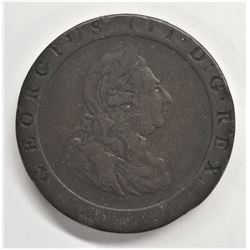 1797 Great Britain 1/2 Penny