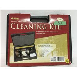 ALLEN DELUXE 37 PCS FIREARM CLEANING KIT