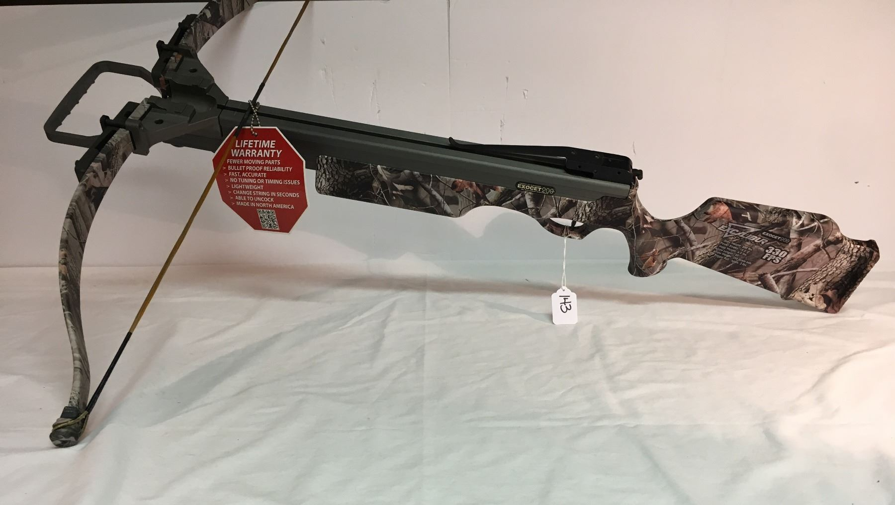 EXCALIBUR CROSSBOW, EXOCETT 200, 200 LBS DRAW, 330 FPS, NEW