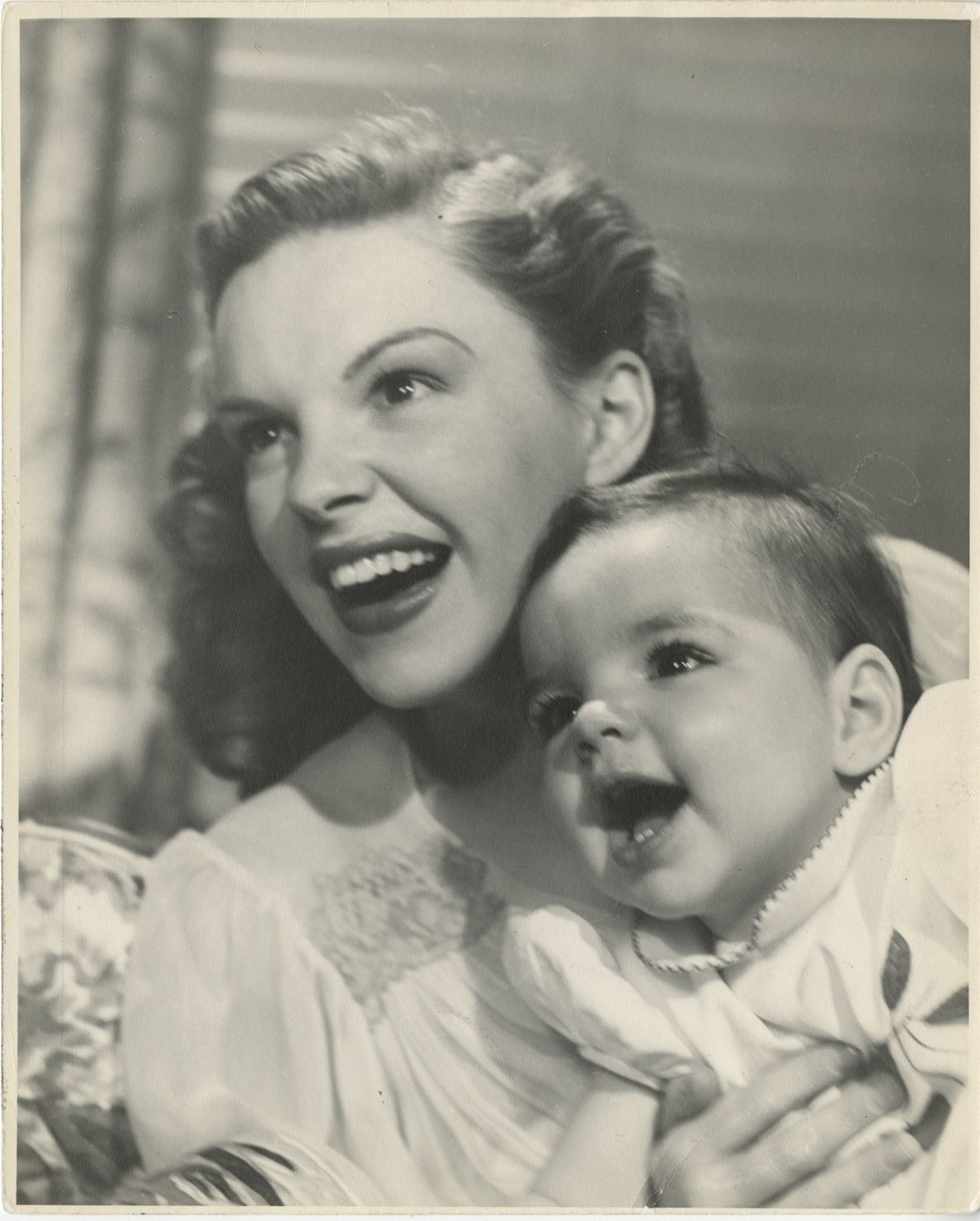 Judy Garland and baby Liza Minnelli photograph by John Engstead