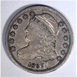 1837 CAPPED BUST DIME