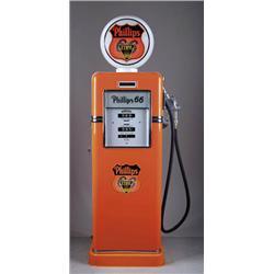 BOWSER ROL-WAY PHILLIPS GAS PUMP