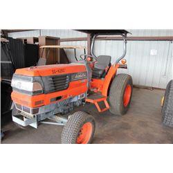 2002 KUBOTA L4310E Farm Tractor; VIN/SN:30357 -:- turf tires, canopy, 138 hours