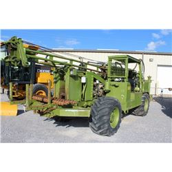 2012 CME 550X Drill Rig; VIN/SN:376423 -:- flotation tires, canopy, drill bits, 3,622 hours