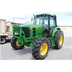 2011 JOHN DEERE 7230 Farm Tractor; VIN/SN:691493 -:- MFWD, 3 remotes, cab, A/C, 18.4R34 rear tires,