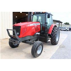 2012 MASSEY FERGUSON 5465 Farm Tractor; VIN/SN:C094041 -:- 3 remotes, cab, A/C, 18.4R34 rear tires,
