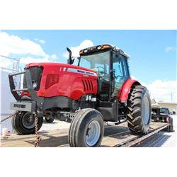 2012 MASSEY FERGUSON 5465 Farm Tractor; VIN/SN:C094015 -:- 3 remotes, cab, A/C, 18.4-34 rear tires,