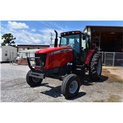 2012 MASSEY FERGUSON 5465 Farm Tractor; VIN/SN:C094053 -:- 3 remotes, cab, A/C, 18.4-34 rear tires,