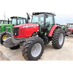 2013 MASSEY FERGUSON 5470 Farm Tractor; VIN/SN:D010042 -:- MFWD, 3 remotes, cab, A/C, 18.4R34 rear t