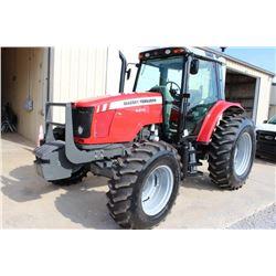 2013 MASSEY FERGUSON 5470 Farm Tractor; VIN/SN:C348024 -:- MFWD, 3 remotes, cab, A/C, 18.4-34 rear t