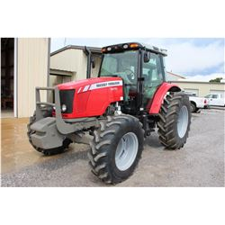 2013 MASSEY FERGUSON 5470 Farm Tractor; VIN/SN:D010048 -:- MFWD, 3 remotes, cab, A/C, 18.4R34 rear t