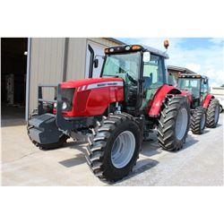 2013 MASSEY FERGUSON 5470 Farm Tractor; VIN/SN:D011008 -:- MFWD, 3 remotes, cab, A/C, 18.4R34 rear t