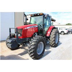 2013 MASSEY FERGUSON 5470 Farm Tractor; VIN/SN:C355028 -:- MFWD, 3 remotes, cab, A/C, 18.4-34 rear t