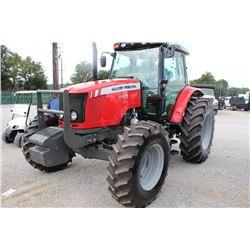 2013 MASSEY FERGUSON 5470 Farm Tractor; VIN/SN:C355026 -:- MFWD, 3 remotes, cab, A/C, 18.4-34 rear t
