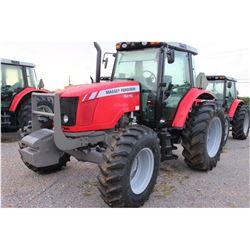 2013 MASSEY FERGUSON 5470 Farm Tractor; VIN/SN:C355031 -:- MFWD, 3 remotes, cab, A/C, 18.4R34 rear t