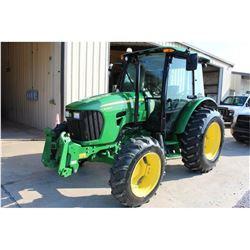 2011 JOHN DEERE 5085M Farm Tractor; VIN/SN:346547 -:- MFWD, 2 remotes, Zuidberg frontline system, Po