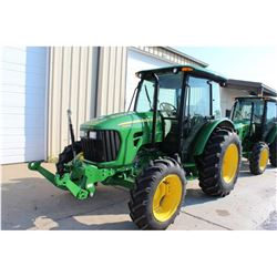 2011 JOHN DEERE 5085M Farm Tractor; VIN/SN:346543 -:- MFWD, 2 remotes, Zuidberg frotline system, Pow