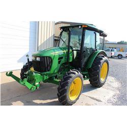 2011 JOHN DEERE 5085M Farm Tractor; VIN/SN:346546 -:- MFWD, 2 remotes, Zuidberg frontline system, Po