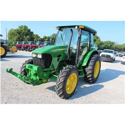 2011 JOHN DEERE 5085M Farm Tractor; VIN/SN:346548 -:- MFWD, 2 remotes, Zuidberg frontline system, Po