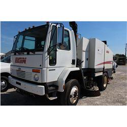 2006 STERLING SC-8000 Sweeper Truck; VIN/SN:49HAADBV36DV10960 -:- S/A, Cummins diesel, A/T, Elgin Ea
