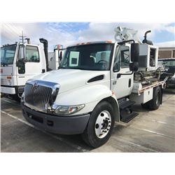 2007 INTERNATIONAL 4200 Post Truck; VIN/SN:1HTMPAFL37H490033 -:- S/A, Int. diesel, 5 speed trans., G