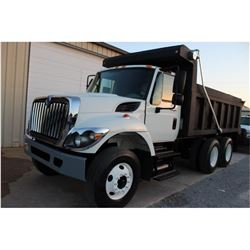2014 INTERNATIONAL 7400 Dump Truck; VIN/SN:1HTWHAAR9EH763572 -:- T/A, Int. diesel, Allison A/T, 40K