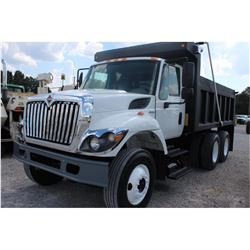 2010 INTERNATIONAL 7400 Dump Truck; VIN/SN:1HTWHAAR1AJ245068 -:- T/A, Int. diesel, Allison A/T, 40K