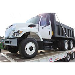 2010 INTERNATIONAL 7400 Dump Truck; VIN/SN:1HTWHAARXAJ245067 -:- T/A, Int. diesel, A/T, 40K rears, 1