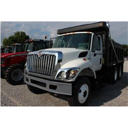 2009 INTERNATIONAL 7400 Dump Truck; VIN/SN:1HTWHAAR59J177708 -:- T/A, 300 HP Int. diesel, Allison A/