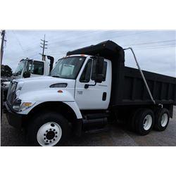 2006 INTERNATIONAL 7400 Dump Truck; VIN/SN: 1HTWHAAR76J392065 -:- T/A, Int. diesel, A/T, 40K rears,
