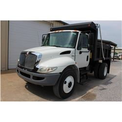 2011 INTERNATIONAL 4300 Dump Truck; VIN/SN:1HTMMAAR3BH344583 -:- S/A, 260 HP Int. diesel, Allison A/