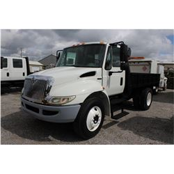 2008 INTERNATIONAL 4300 Flatbed Dump Truck; VIN/SN:1HTJTSKM68H655321 -:- S/A, Int. diesel, A/T, 25,5