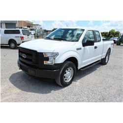 2016 FORD F150 Pickup Truck; VIN/SN:1FTFX1EF2GFC39534 -:- 4x4, V8 gas, A/T, AC, 52,633 miles