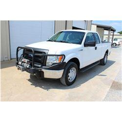 2014 FORD F150 Pickup Truck; VIN/SN:1FTFX1EF9EKD94506 -:- 4x4, ext. cab, V8 gas, A/T, AC, Warn winch