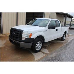 2012 FORD F150 Pickup Truck; VIN/SN:1FTEX1CM5CFB27088 -:- ext. cab, V6 gas, A/T, AC, 54,505 miles