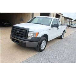 2012 FORD F150 Pickup Truck; VIN/SN:1FTEX1CM3CFB36775 -:- ext. cab, V6 gas, A/T, AC, 59,798 miles