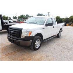 2011 FORD F150 Pickup Truck; VIN/SN:1FTEX1EM0BFB46854 -:- 4x4, ext. cab, V6 gas, A/T, AC, 68,662 mil