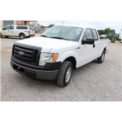 2011 FORD F150 Pickup Truck; VIN/SN:1FTEX1CM0BFB17826 -:- ext. cab, V6 gas, A/T, AC, 64,761 miles