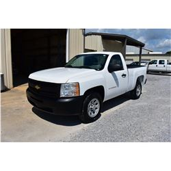 2011 CHEVROLET 1500 Pickup Truck; VIN/SN:1GCNCPEA1BZ324824 -:- V8 gas, A/T, AC, 29,285 miles