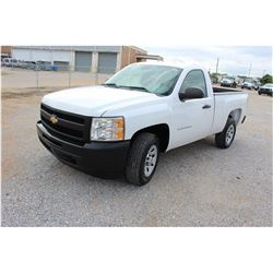 2011 CHEVROLET 1500 Pickup Truck; VIN/SN:1GCNCPEA4BZ328270 -:- V8 gas, A/T, AC, 43,902 miles