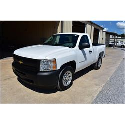 2011 CHEVROLET 1500 Pickup Truck; VIN/SN:1GCNCPEA4BZ324834 -:- V8 gas, A/T, AC, 55,187 miles