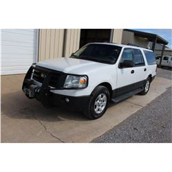 2014 FORD EXPEDITION; VIN/SN:1FMJK1G51EEF63330 -:- 4x4, V8 gas, A/T, AC, Warn VR1000 winch, 3rd row